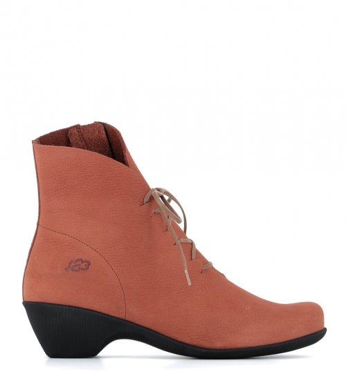 low boots muze 33156 rust