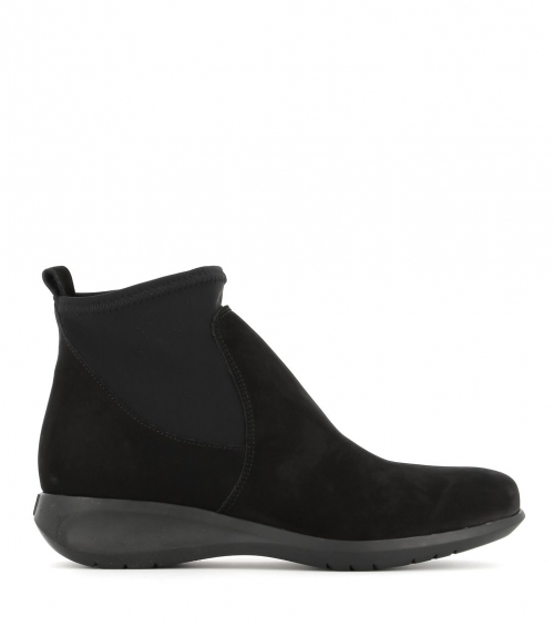 low boots sacha black