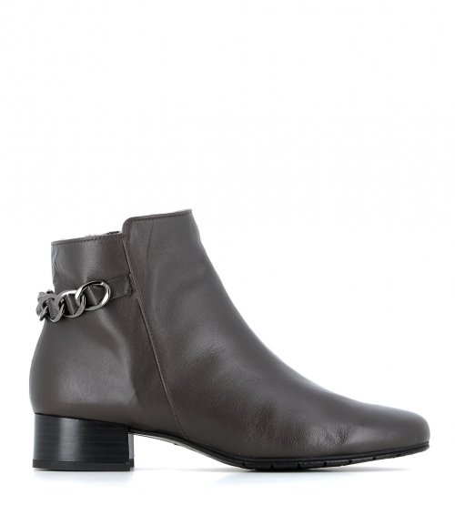lined ankle boots 38371 snail