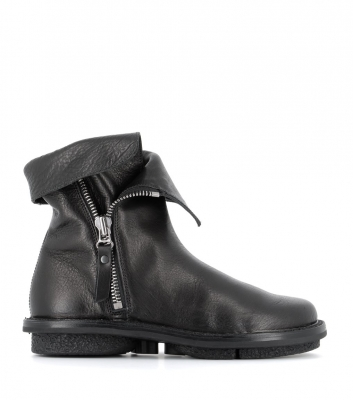 low boots deer f black