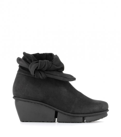 low boots tippet f black