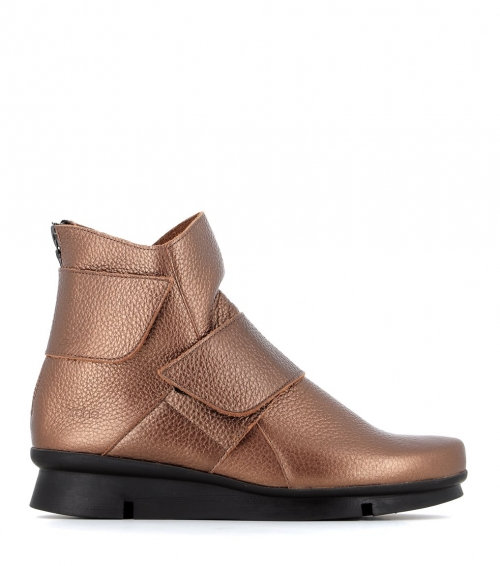 ankle boots padhya cuivre