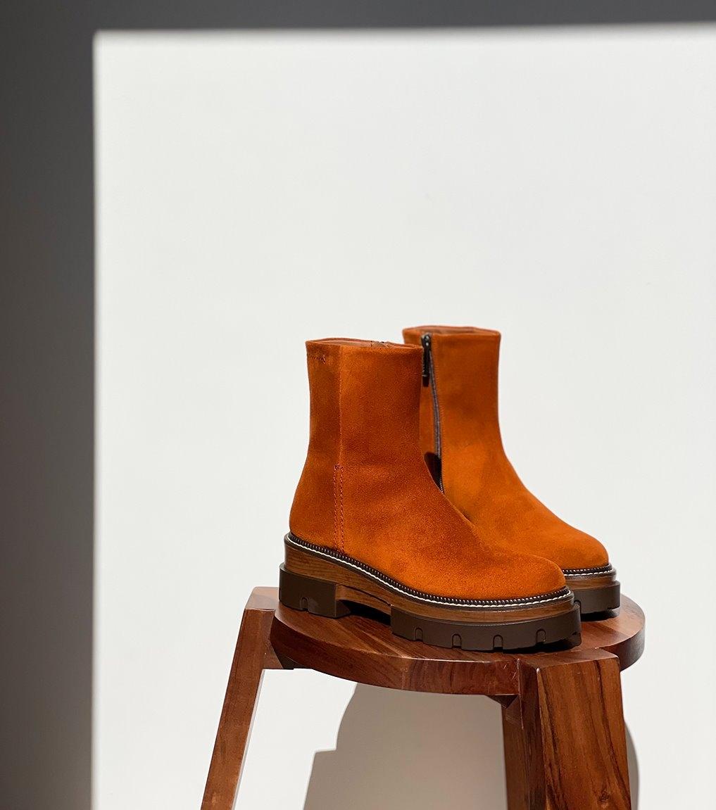 ankle boots debora 9356 cognac
