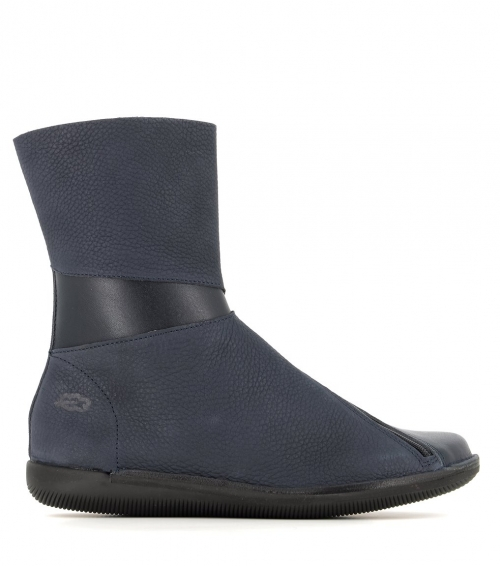 low boots natural 68105 marine