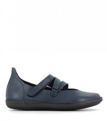 ballerines natural 68310 bleu
