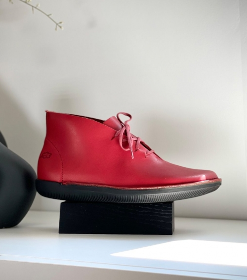 casual shoes natural 68163 red