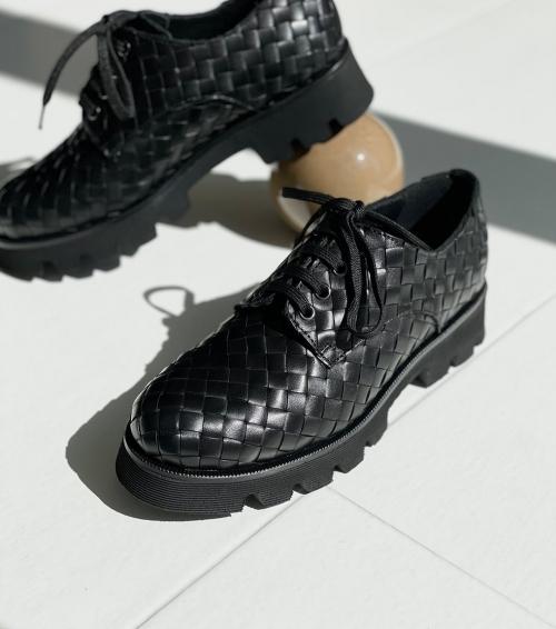 lace up shoes jenny 9400 black