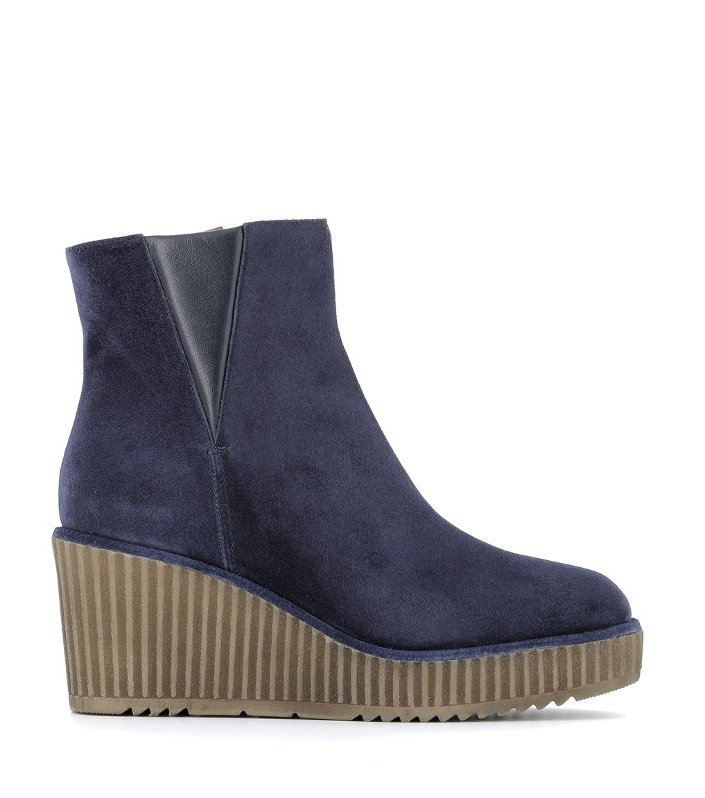 low boots claudia 8131N06 navy