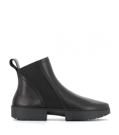 low boots work f black