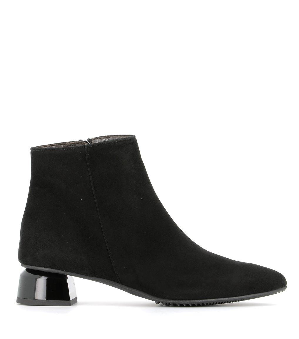 low boots 38311 velvet black