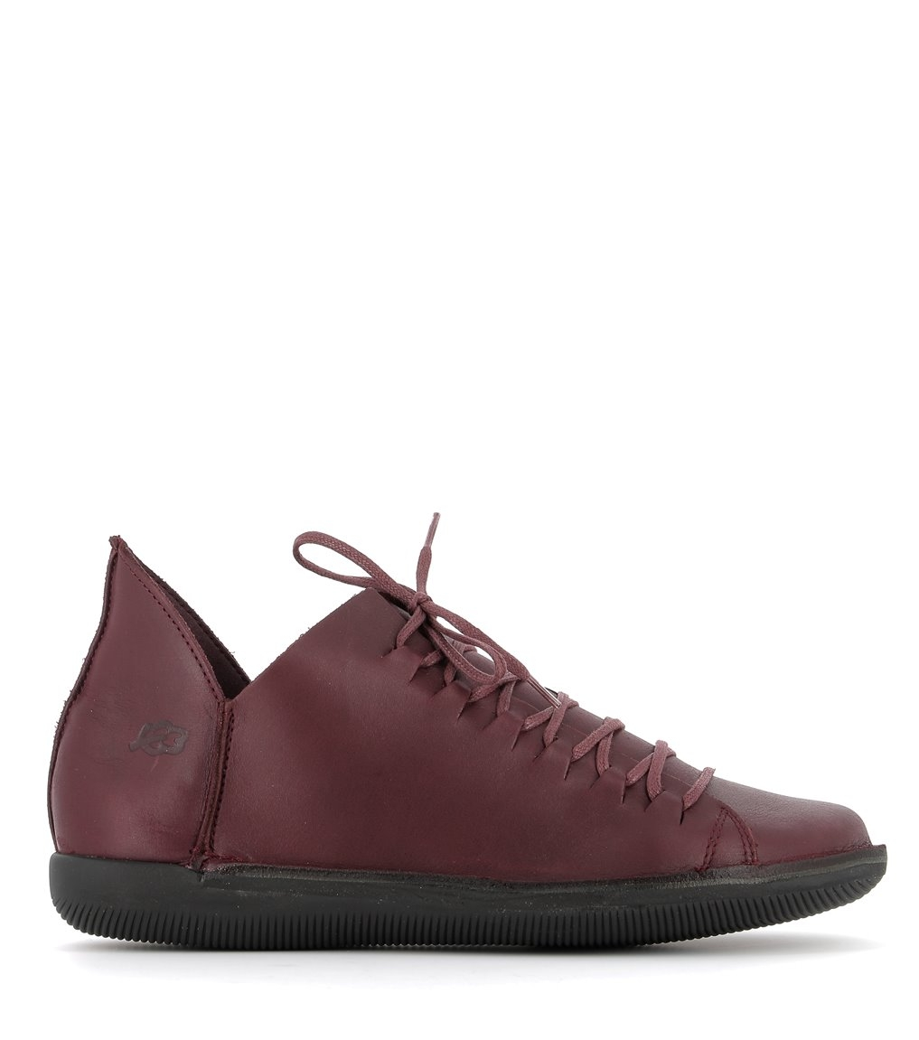 casual shoes natural 68066 burgundy