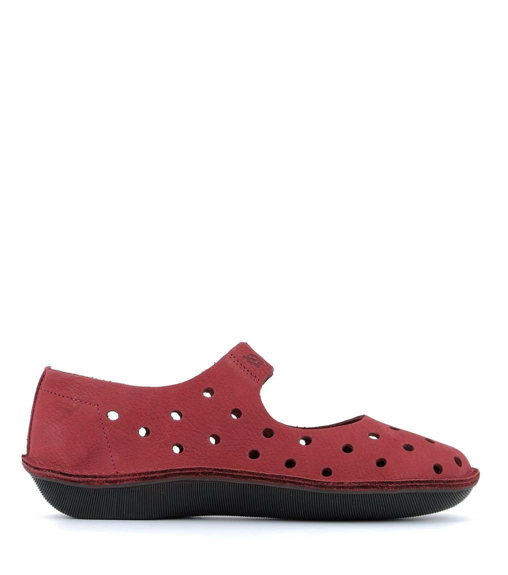 zapatos turbo 39034 rojo