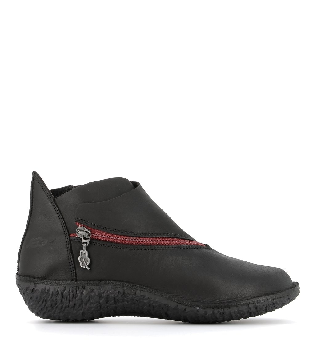 low boots fusion 37534 black