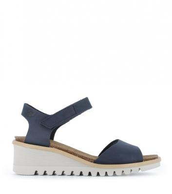 sandalias bright 16070 azul