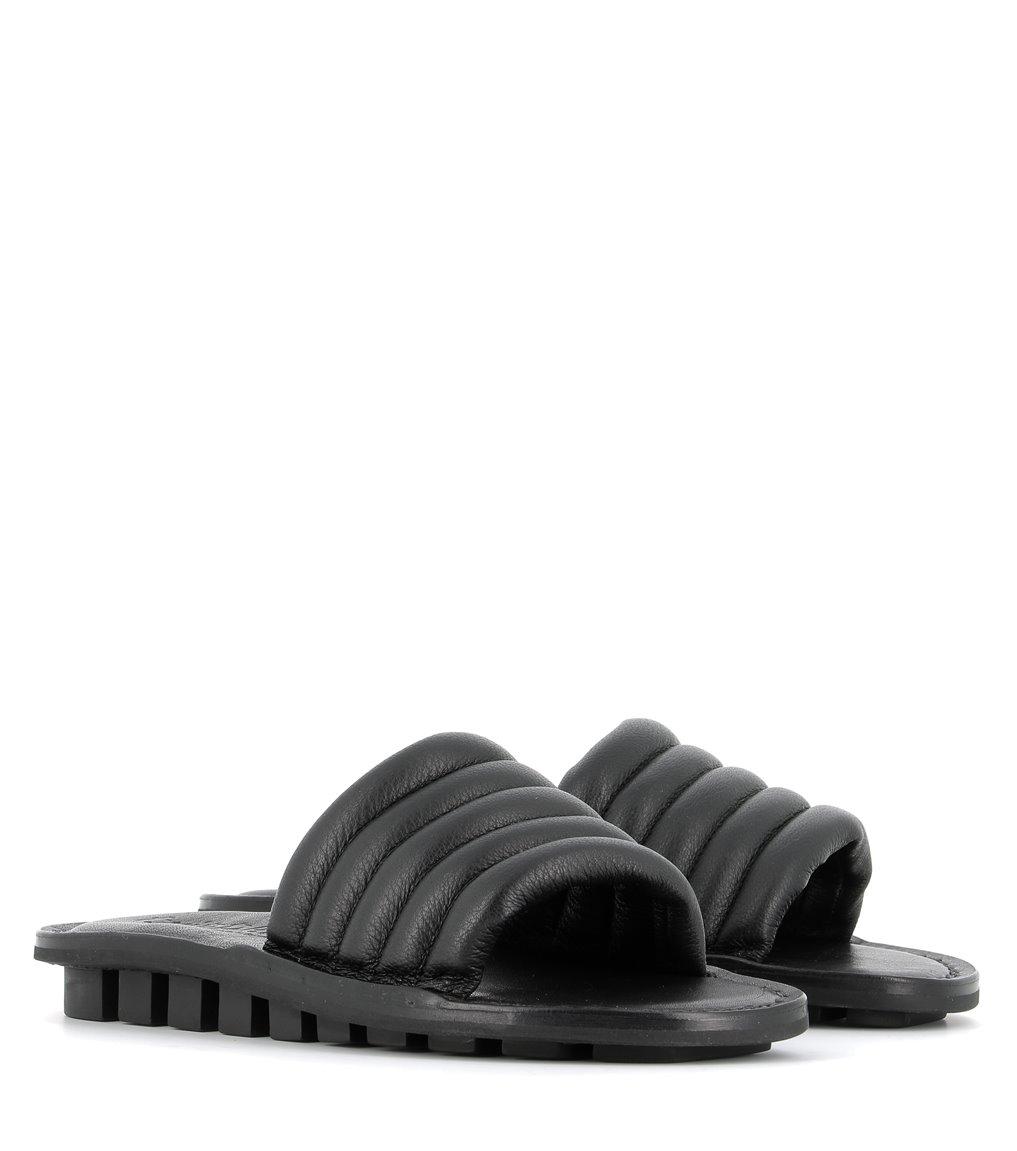 sandales lette f noir