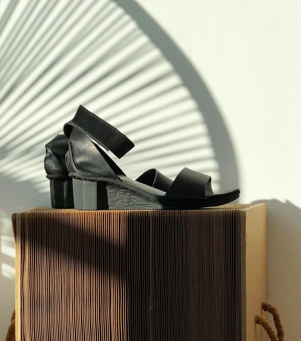 sandales itten f noir