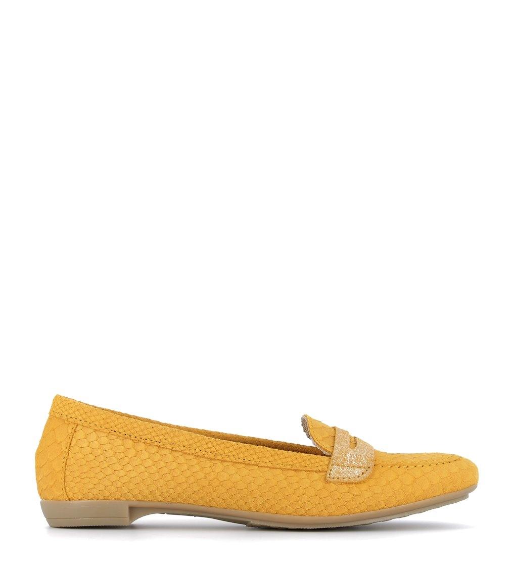 mocassins maria jaune