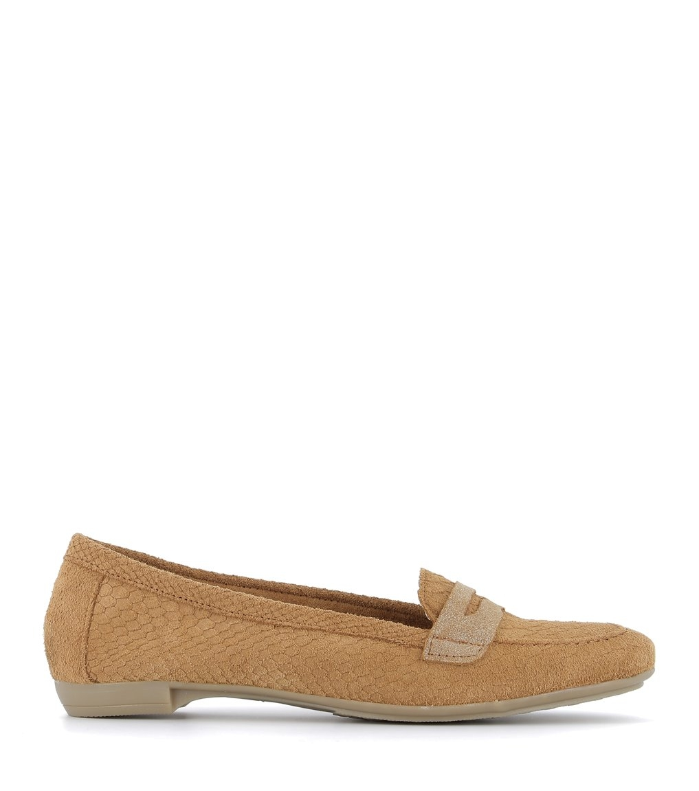 loafers maria camel