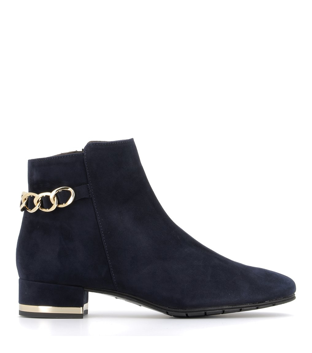 low boots 38322 blu