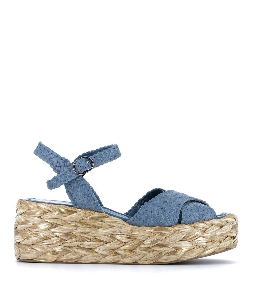 sandales erika 8745 aqua