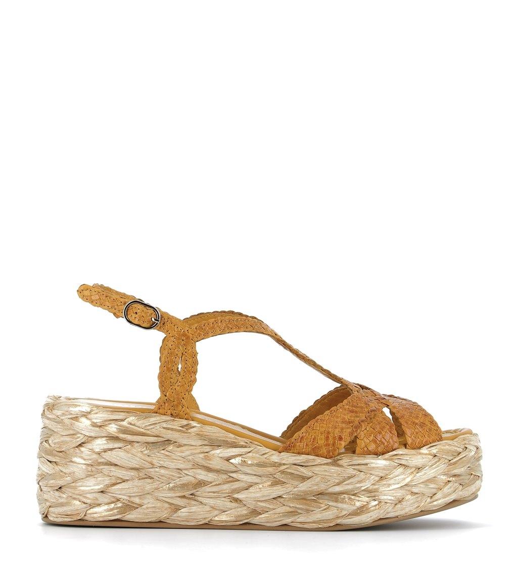sandals erika 8746 lemon