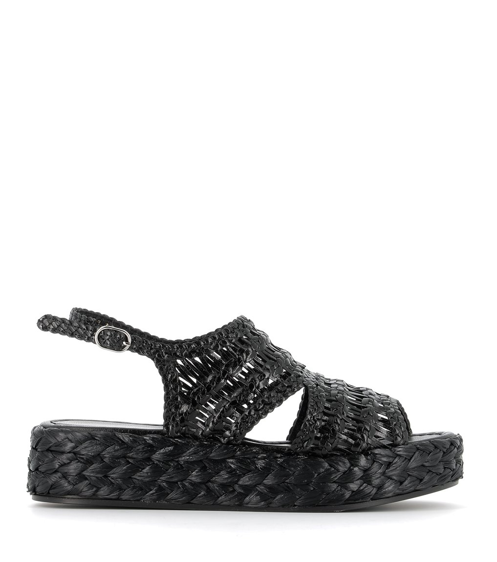 sandals forli 8672 black