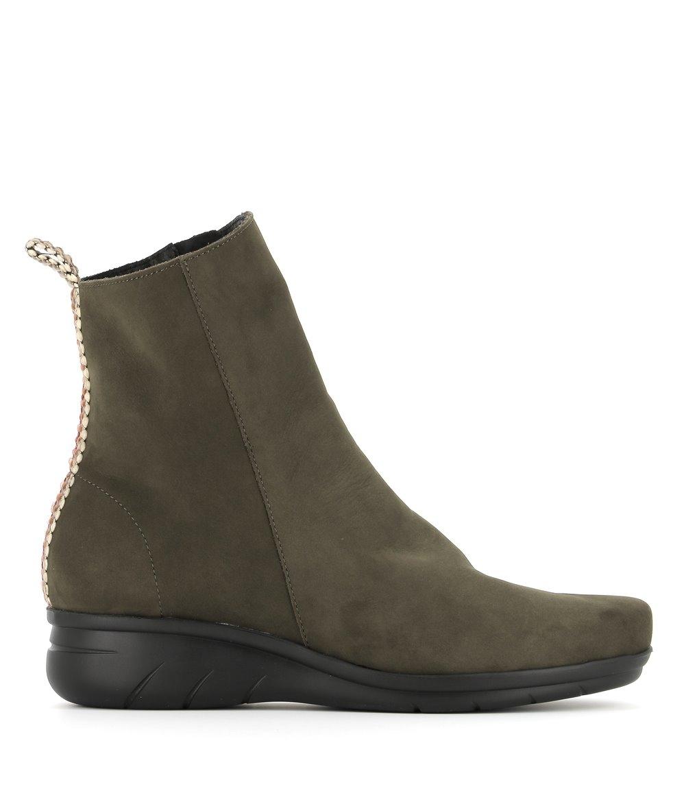 low boots dereck khaki