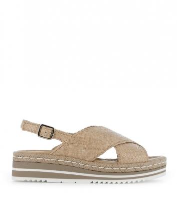 sandals milan 8330 ivory