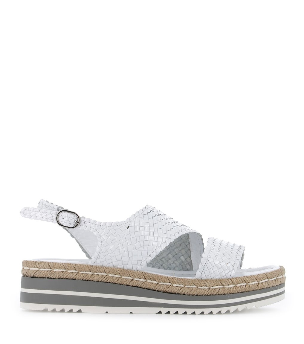 sandales milan 8329 blanc