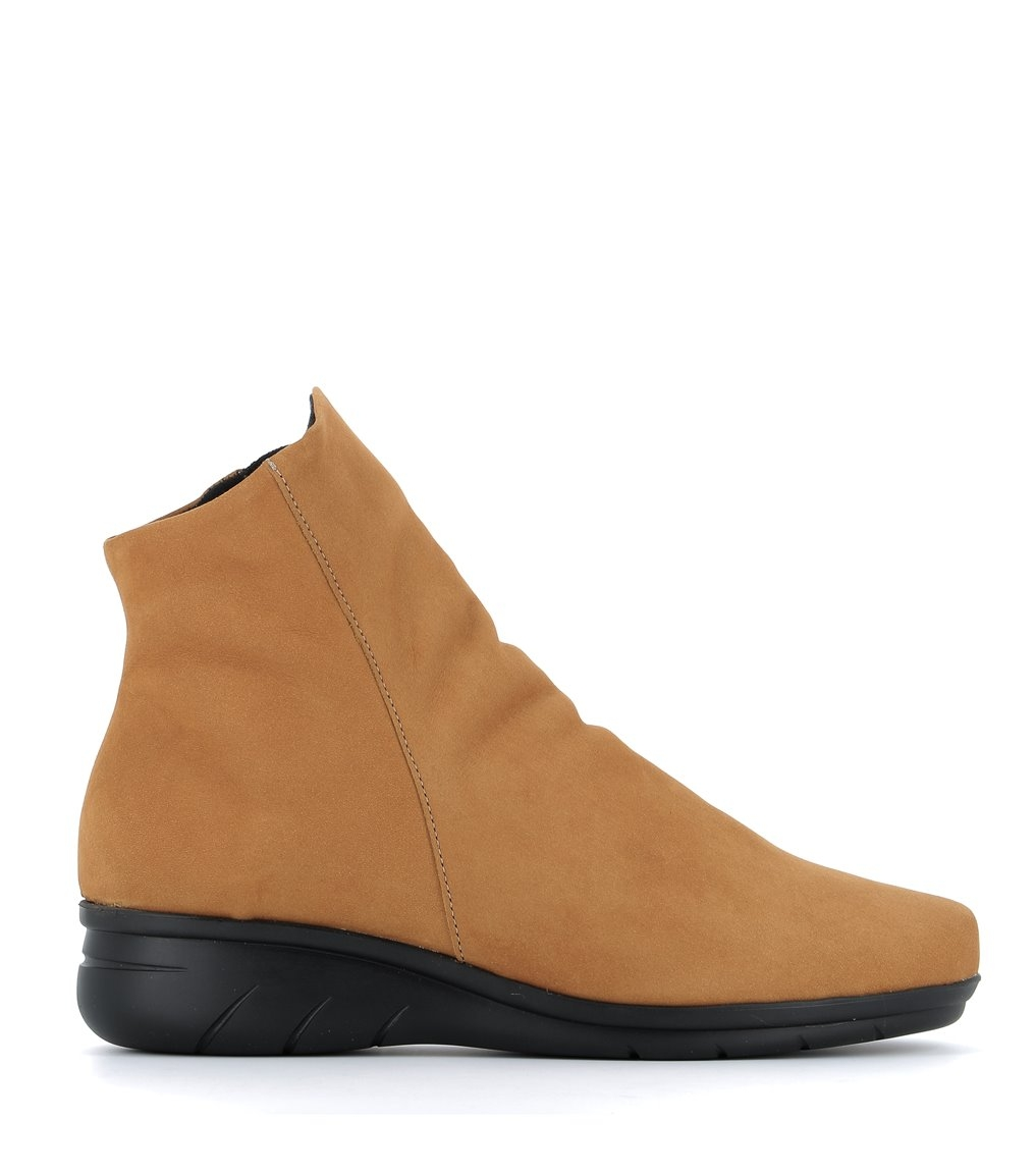 low boots dayton ocre