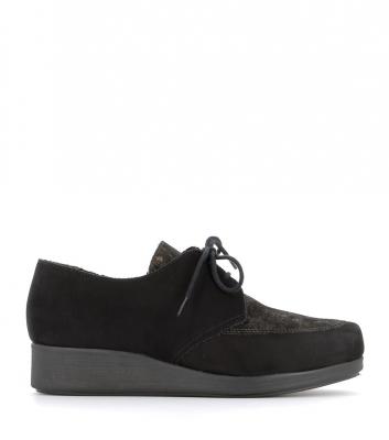 chaussures brooke noir fauve