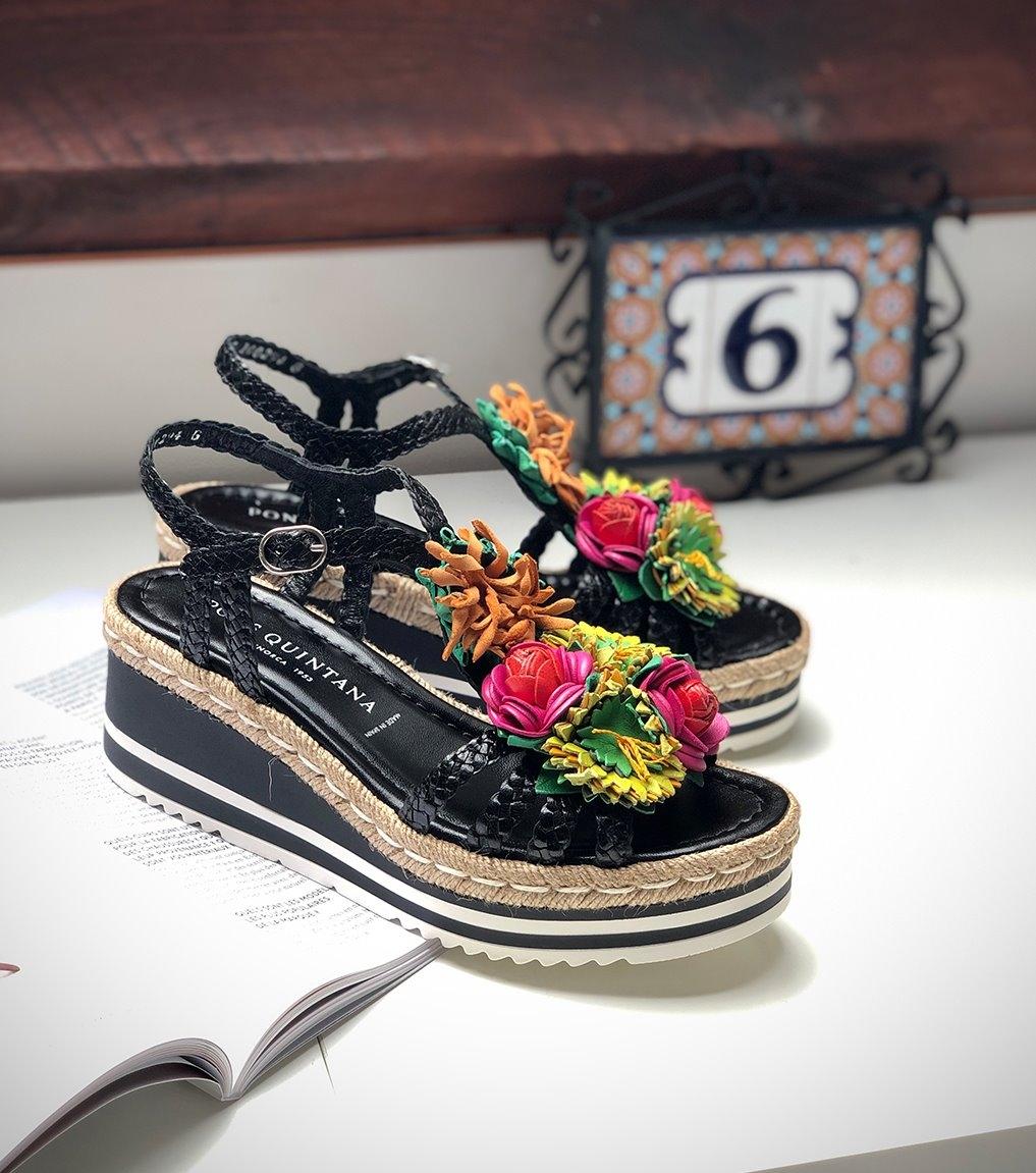 sandales padova 8390 noir