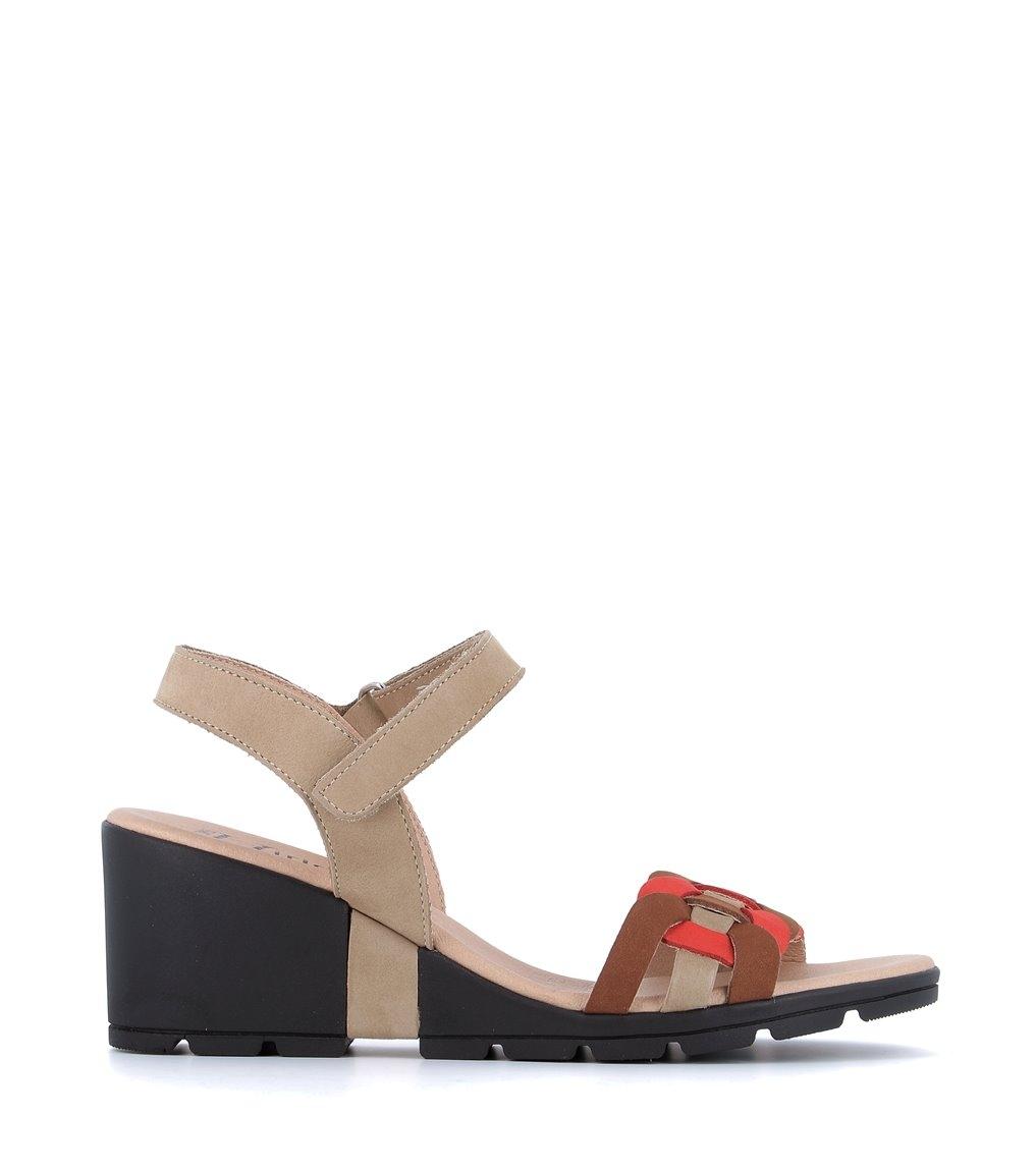 sandales charlie beige