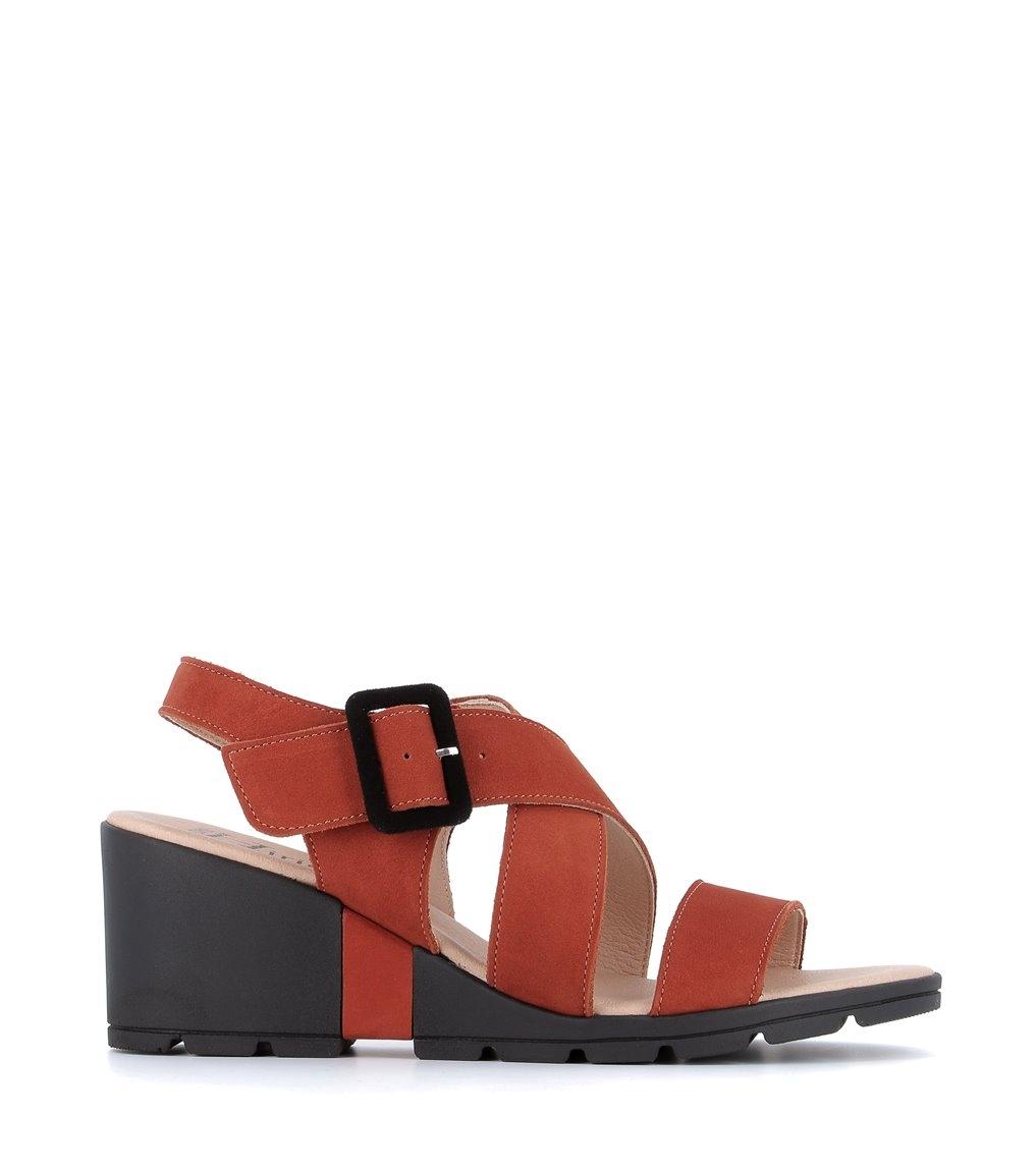 sandales celian brique
