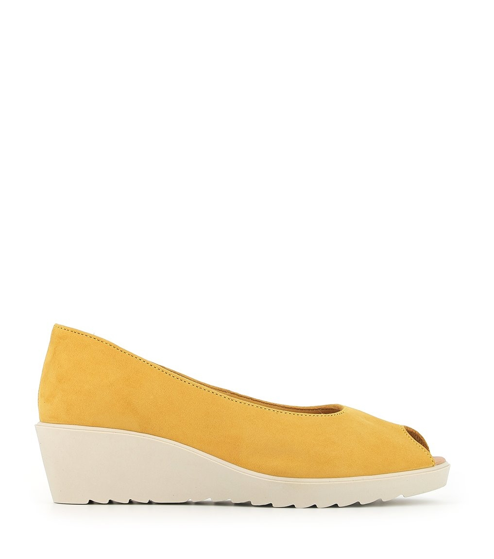 sandales bonnie safran