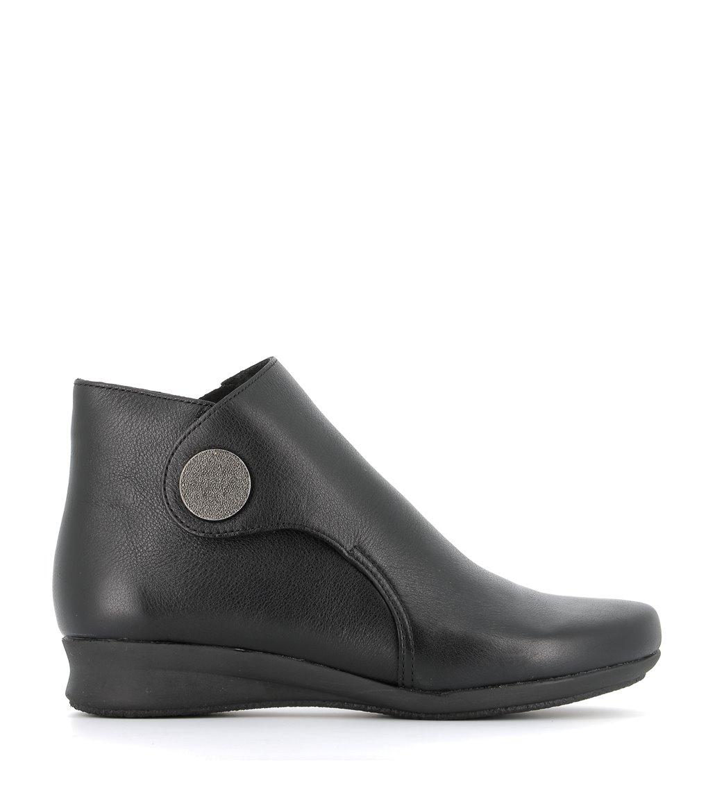 low boots romarin black