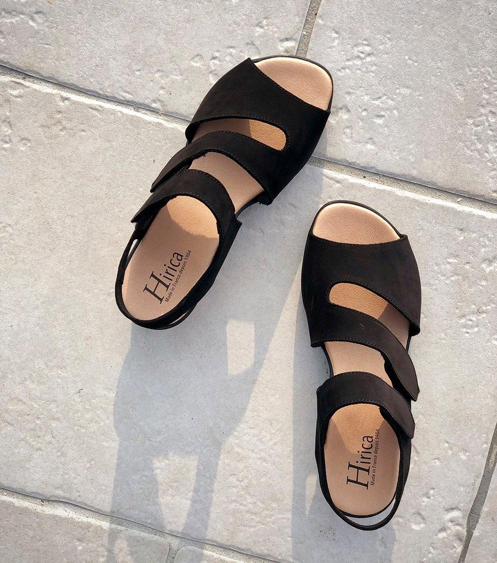 sandalias vaiana negro
