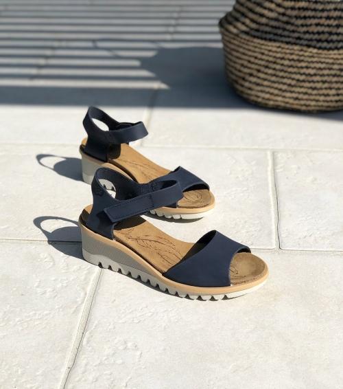 sandals bright 16070 blue