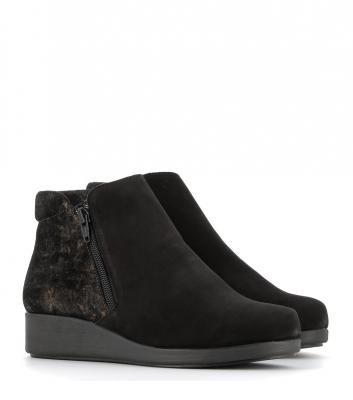 boots bercy fauve noir