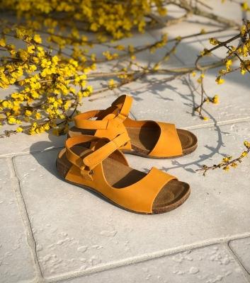 sandales florida 31087 jaune