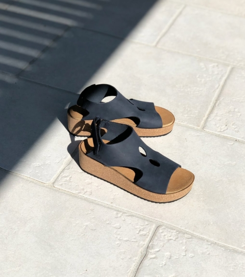 sandales samba 71940 bleu