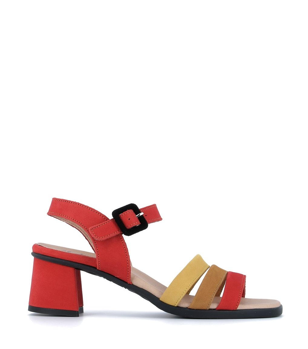 sandales agatha corail