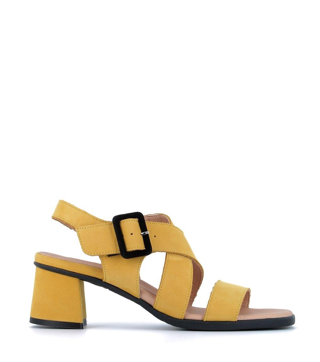 sandales albane safran