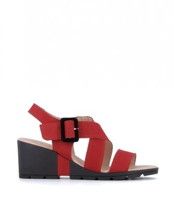 sandales celian rouge