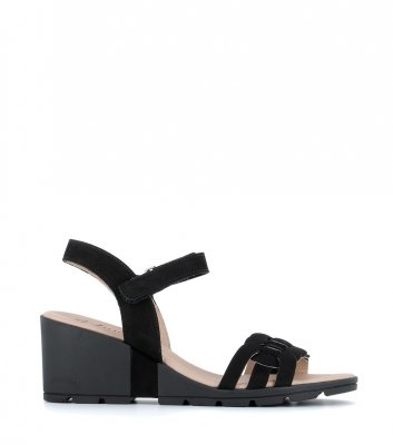 sandales charlie noir