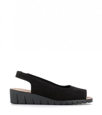 sandals sandy black