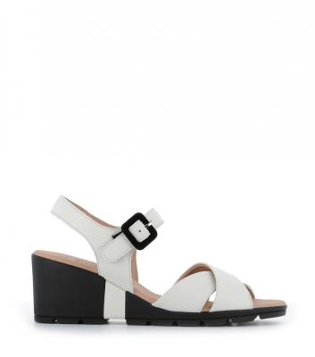 sandales carl blanc