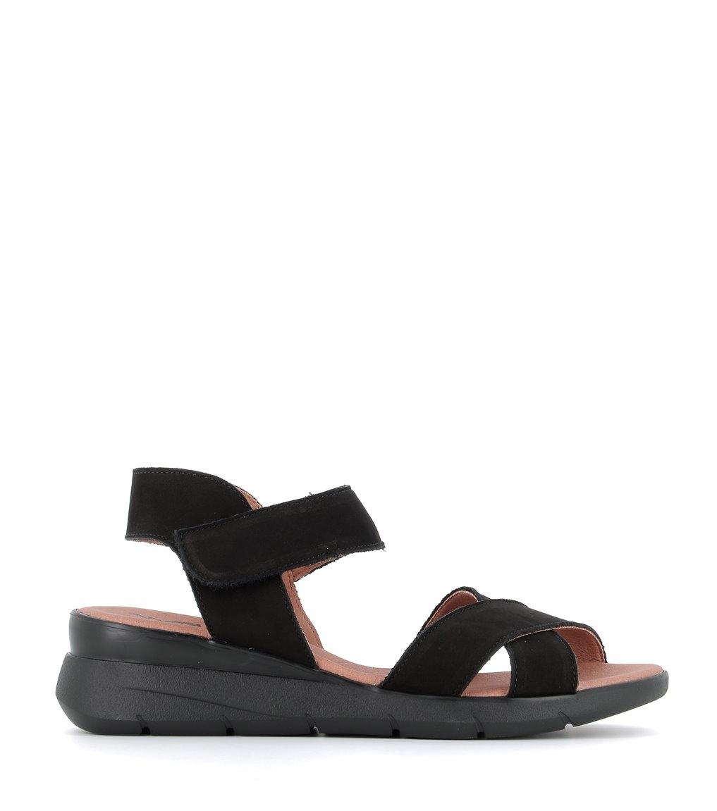 sandales honore noir