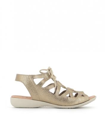 sandals laurette platine