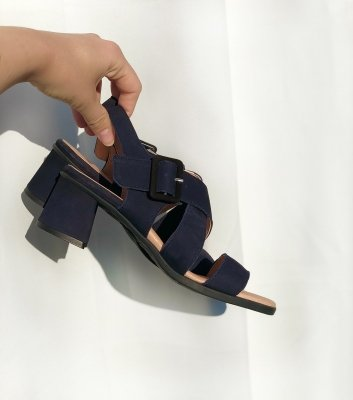 sandales albane marine